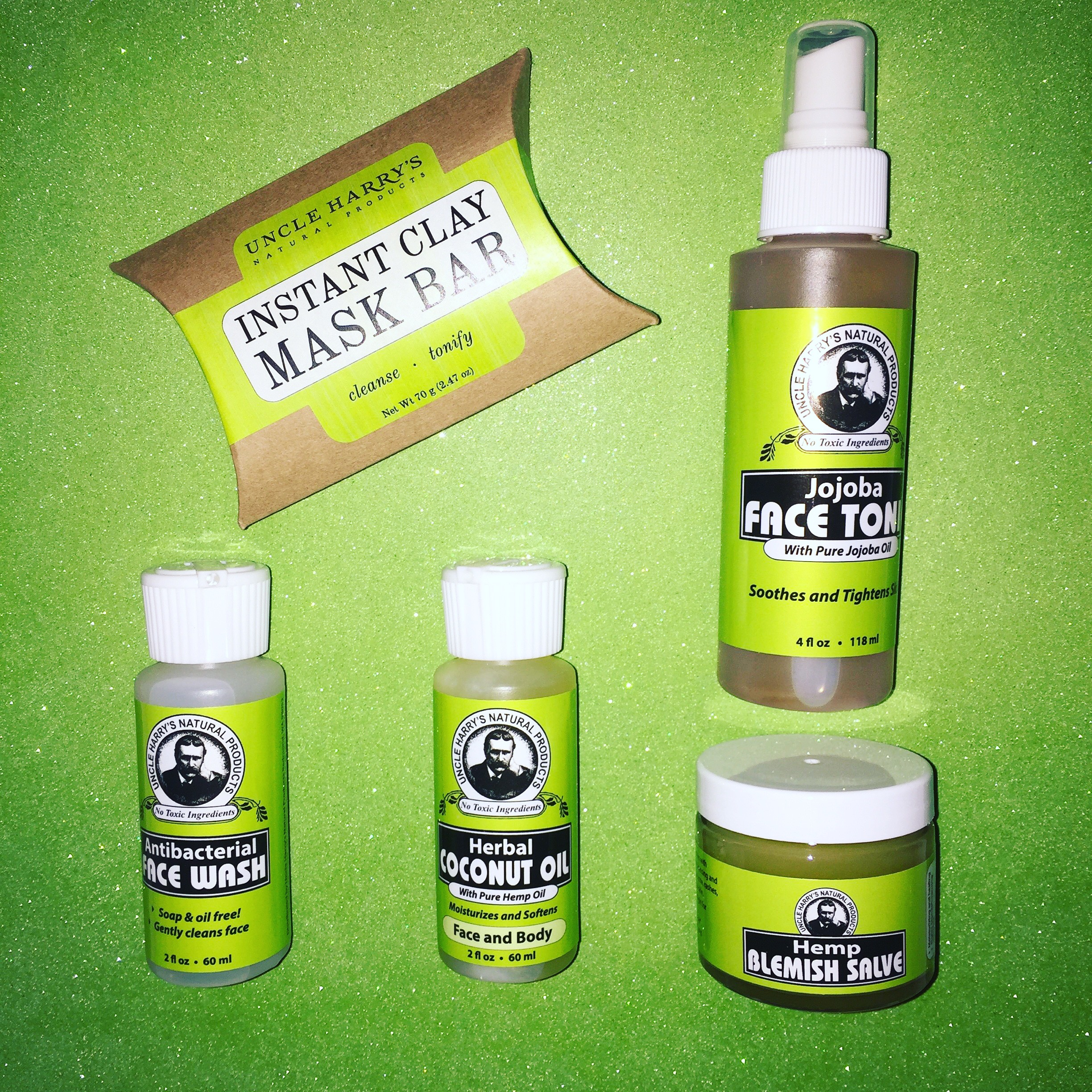 Antibacterial Face Wash by Uncle Harrys Natural Products (4floz Cleanser) Cremo Cream Concentrated Shave Cream Original 6.0 fl oz(pack of 12)